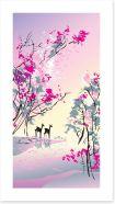 Four seasons - Spring Art Print 12747249