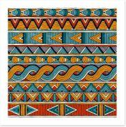 African Art Print 128840583
