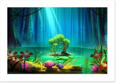 Magical Kingdoms Art Print 131179133