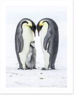 Parental love Art Print 131661569