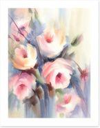 Soft rose bouquet