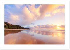 Fraser Island reflections Art Print 134473375