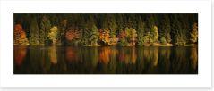 Lakeside Autumn panorama
