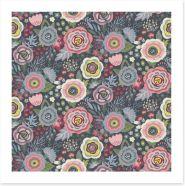 Flowers Art Print 136070566