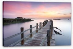 Jetty Stretched Canvas 136209359