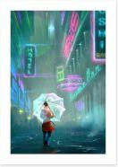 Contemporary Art Print 136284306