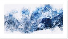 Winter Art Print 136886568