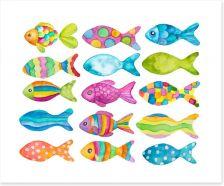 Watercolour Art Print 140701539