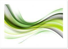 Being green Art Print 141110472