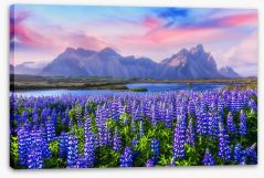 Mountains Stretched Canvas 144153144