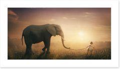 I'll take you there Art Print 147199083