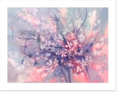 Sakura branch bloom Art Print 149286397