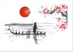 Japanese Art Art Print 156203995