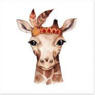 Little boho giraffe