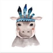 Little boho hippo