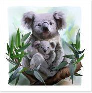Animal Friends Art Print 159450846