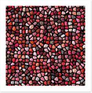 Mosaic Art Print 164258354