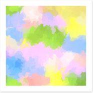 Joyful spring Art Print 168390281
