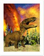 Dinosaurs Art Print 170593712