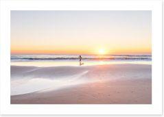 Beaches Art Print 171166184