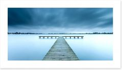 Jetty Art Print 176460833