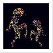 African Art Art Print 179362363