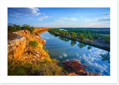 Rivers Art Print 180953441