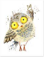 Owls Art Print 181328643
