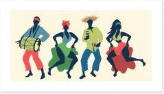 African Art Art Print 182243246