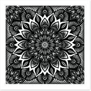 Black and White Art Print 185433866