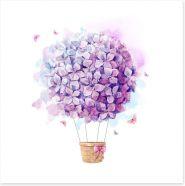 Balloons Art Print 186442864