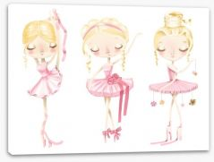 Pretty Pink Stretched Canvas 186752675