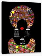 African Art Stretched Canvas 187511577
