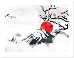 Japanese Art Art Print 188926906