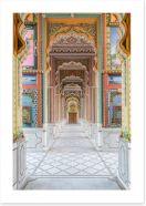 Jaipur couloir Art Print 189605083