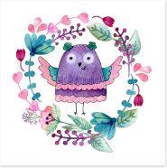 Owls Art Print 192042650