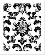 Black and White Art Print 192687264