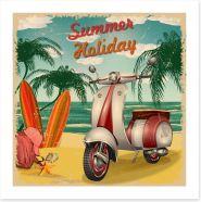 Beach House Art Print 196527498