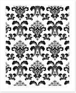Black and White Art Print 197185140