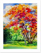 Autumn Art Print 198438453