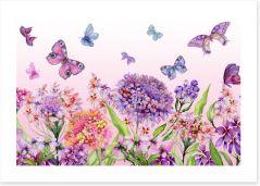 Butterflies Art Print 200338980