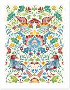 Folk Art Art Print 201228929