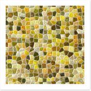 Mosaic Art Print 201766774