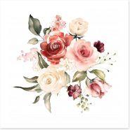 Rose posy 1 Art Print 202605393
