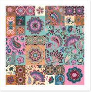 Patchwork Art Print 203173935