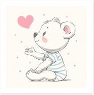 Teddy Bears Art Print 204157668