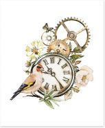 Time after time Art Print 205282096