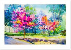 Watercolour Art Print 206449630