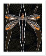 Aboriginal Art Art Print 206972492