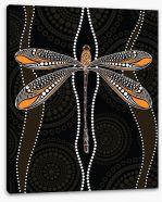 Aboriginal Art Stretched Canvas 206972492